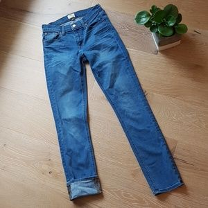 J. Crew matchstick jeans 25
